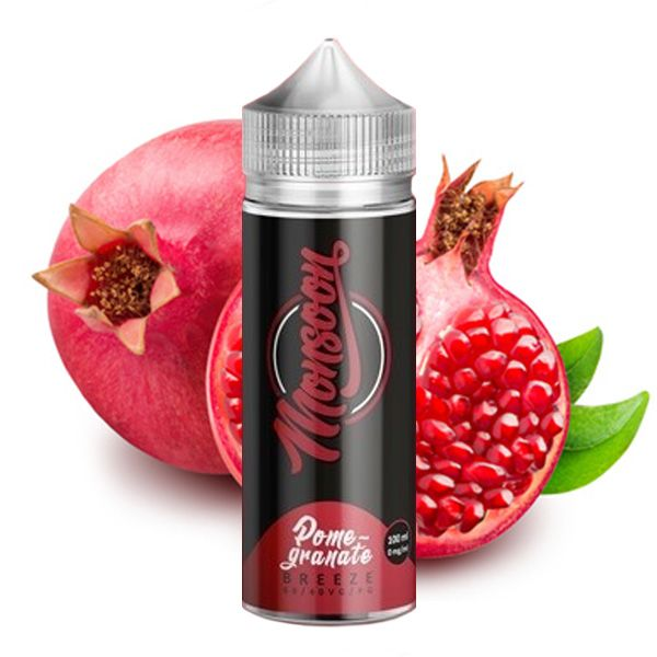 Monsoon Premium Liquid - Pomegranate Breeze